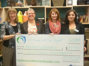 Hospice Wellington Art Therapy Program Our very first winning charity!