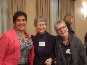 Rosemary, ???, Nancy. Look at those Happy Shiny Faces. We made a difference tonight